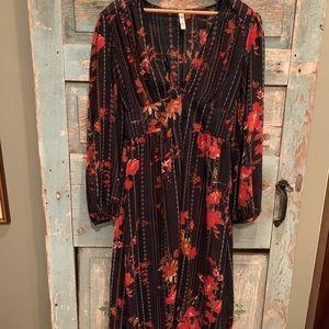 Xhilaration shirt dress/kimono